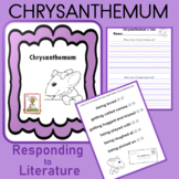 Chrysanthemum Response Writing Activity