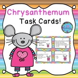 Chrysanthemum Activities Task Cards! (Reading Comprehension)