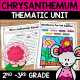 Chrysanthemum ELA and Math NO Prep Activities for Back to