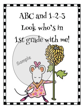 """Chrysanthemum-Themed """"My Initial Letter Puzzle"""""""