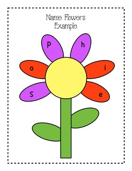 Chrysanthemum Unit: Literacy and Math Activities to Celebrate Our Names!