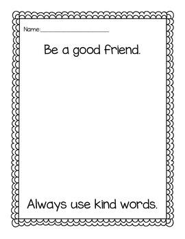 Chrysanthemum: Use Kind Words