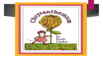 Chrysanthemum Vocabulary Power Point and Quiz