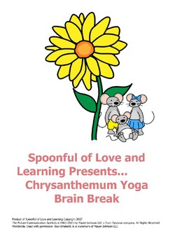 Chrysanthemum Yoga Brain Break