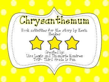 Chrysanthemum~a One Week Reading Unit for the story by Kevin Henkes