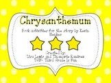 Chrysanthemum~a One Week Reading Unit for the story by Kev