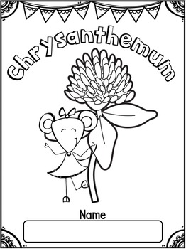 Chrysanthemum by Kevin Henkes ~ Book Study