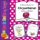 Chrysanthemum by Kevin Henkes Book Unit