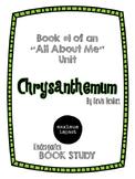 Chrysanthemum by Kevin Henkes Kindergarten Book Study *Good for Back to School