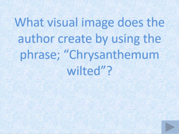 Back to School...Chrysanthemum by K. Henkes ~ Vocab. & Comp. ~ Power Point ~