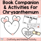 Chrysanthemum by Kevin Henkes Book Craft & Name Activities