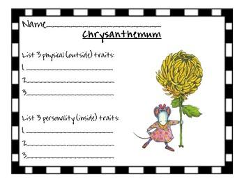 Chrysanthemum character traits