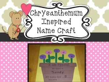Chrysanthemum inspired name craft