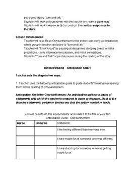 Chrysanthemum scaffolded comprehension and summarizing