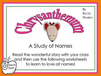 Chrystanthemum: Study of Names