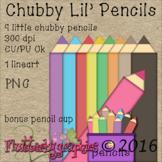Chubby Lil' Pencils