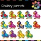 Chubby Parrot Clips