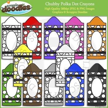 Chubby Polka Dot Crayons FREEBIE :)