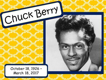 Chuck Berry: Musician in the Spotlight