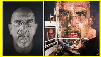 Chuck Close Celebrity Portrait Grid Project Unit Slideshow
