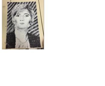 Chuck Close Fingerprint Portraits Project Bundle