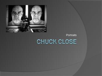 Chuck Close Power Point
