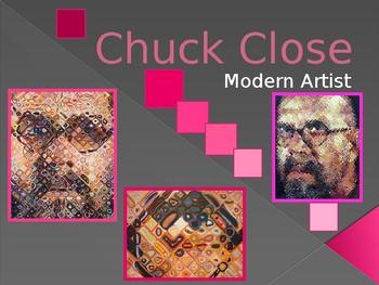Chuck Close Powerpoint