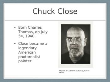 Chuck Close Presentation