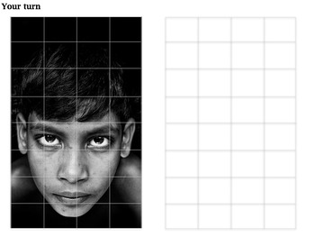 Chuck Close artist research and analysis worksheet