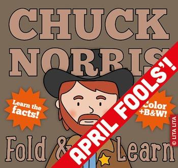 Chuck Norris Fold & Learn FREEBIE