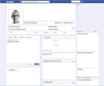 Chuck Palahniuk - Author Study - Profile and Social Media