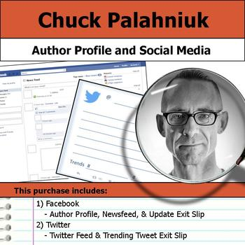 Chuck Palahniuk - Author Study - Profile and Social Media