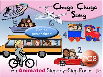 Chuga Chuga - Animated Step-by-Step Song PCS