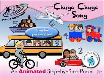 Chuga Chuga - Animated Step-by-Step Song - SymbolStix