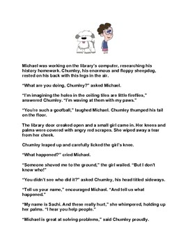 Somebody Saw, Chumley & Michael - The Case of the Shove and Run Bully