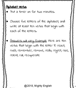 Chunk, Don't Plunk, Sentence Elements: Middle School Activity Book