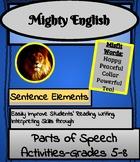 Parts of Speech Activity Book-Grades 5-8