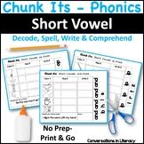 CVC Word Work Chunk Its