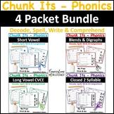 Chunk Its Phonics Making Words Bundle