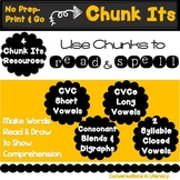 Chunk Its Phonics Making Words Bundle