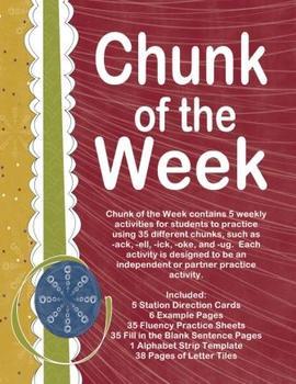 Chunk of the Week - 35 Weeks!!