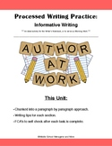 Chunked Writing Practice for Informative Essays: Ideal Wri