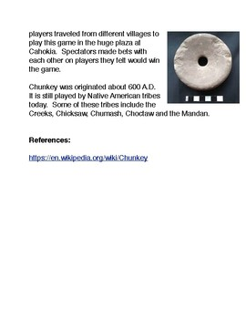 Chunkey: The First Native American Sport