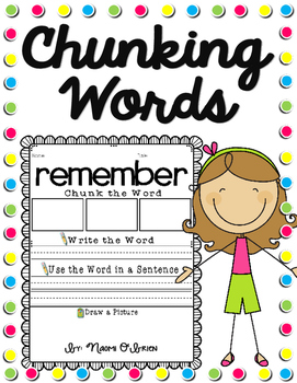 Chunking Multisyllabic Words (And Other Words) by Read Like a Rock ...