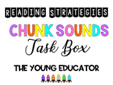 Chunking Sounds Reading Strategy - READING BOOSTER PACK 10/12