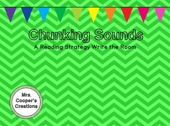 Chunking Sounds Write the Room