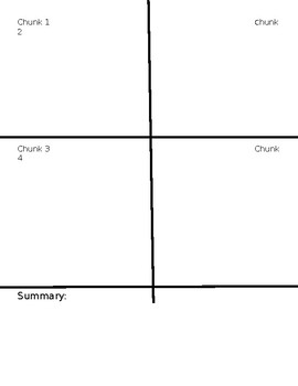 Chunking Template