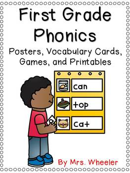 First Grade Phonics Bundle