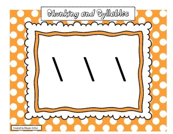 Chunking and Syllable Template by Functional and Practical Teaching