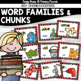 94 Phonics Posters (Chunks & Word Families)